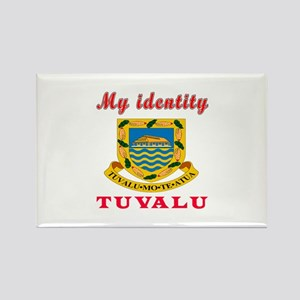 My Identity Tuvalu Rectangle Magnet