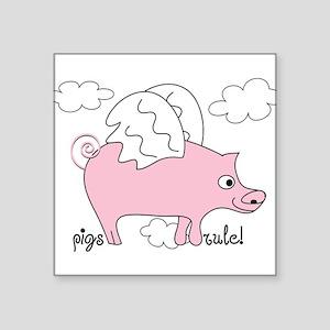 Pigs Rule! Sticker