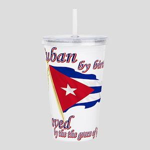 Cuba Acrylic Double-wall Tumbler