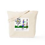 Rallye Tote w/ unicycle cartoon
