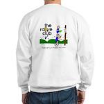 Ash Grey Sweatshirt w/ unicycle, S to 2X