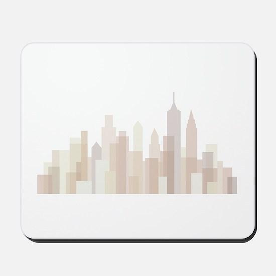 Modern New York Skyline Mousepad