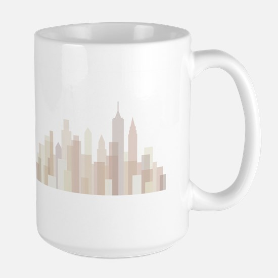 Modern New York Skyline Mug