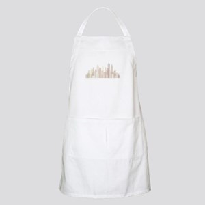 Modern New York Skyline Apron