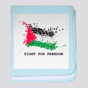 Fight For Freedom baby blanket