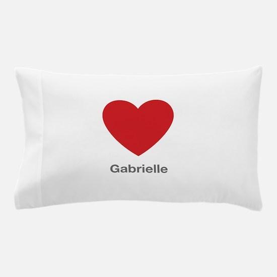 Gabrielle Big Heart Pillow Case