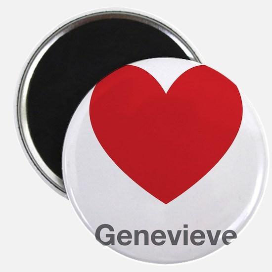 Genevieve Big Heart Magnet