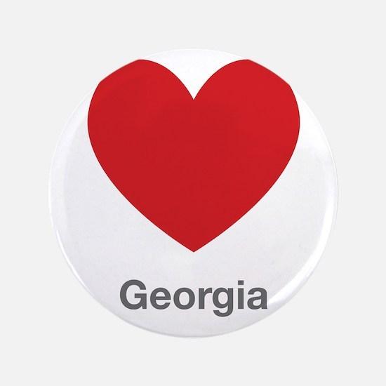 "Georgia Big Heart 3.5"" Button"