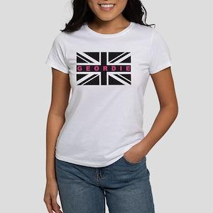 Geordie flag (Pink) T-Shirt