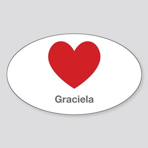 Graciela Big Heart Sticker