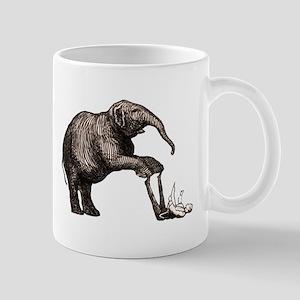Vintage circus elephant Mug