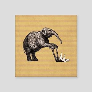 Vintage circus elephant Sticker
