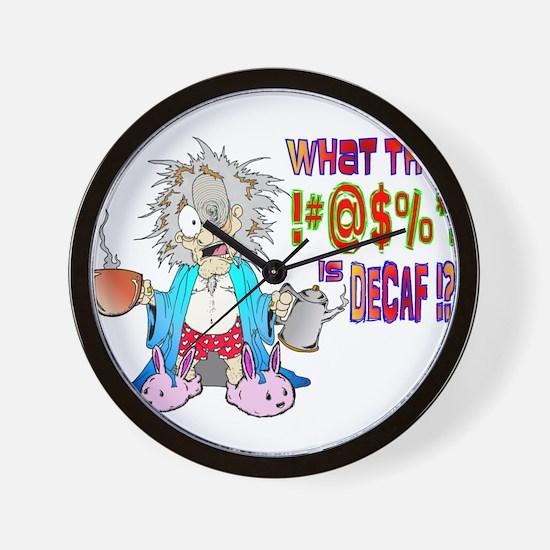 DECAF Wall Clock