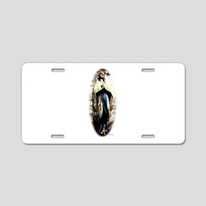 Mary Aluminum License Plate