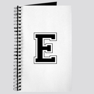 Collegiate Monogram E Journal