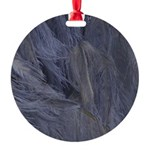 Mardi Gras Feather Time Ornament