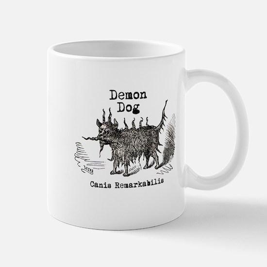 Demon Dog vintage funny doggie Mug