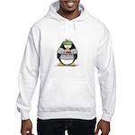Love Poker Penguin Hooded Sweatshirt