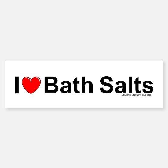 Bath Salts Sticker (Bumper)