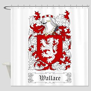 Wallace II Shower Curtain