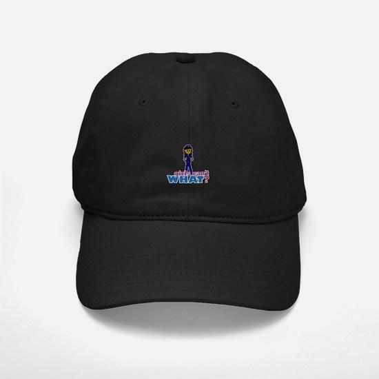 Woman Police Officer Baseball Hat