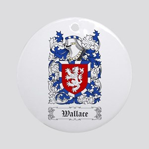 Wallace I Ornament (Round)