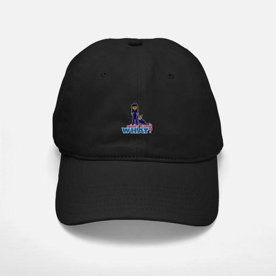 K-9 Police Woman Baseball Hat