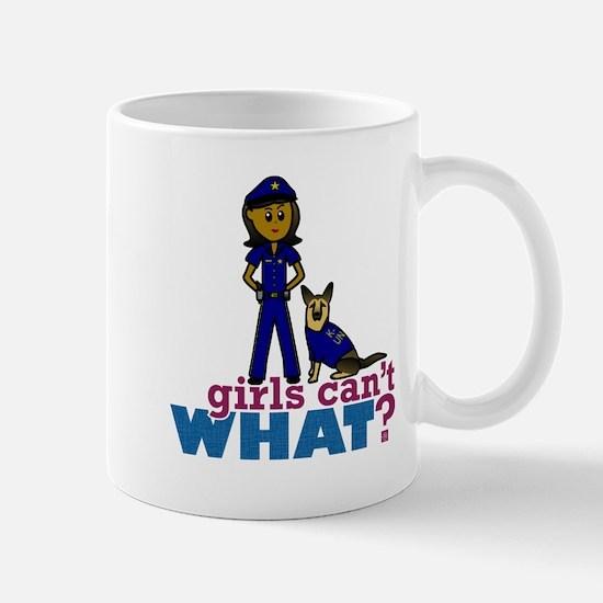 K-9 Police Woman Mug