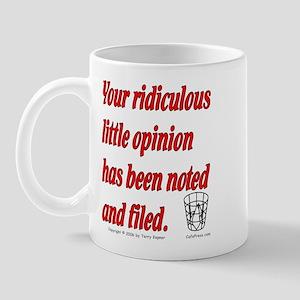 Opinion (txt) Mug