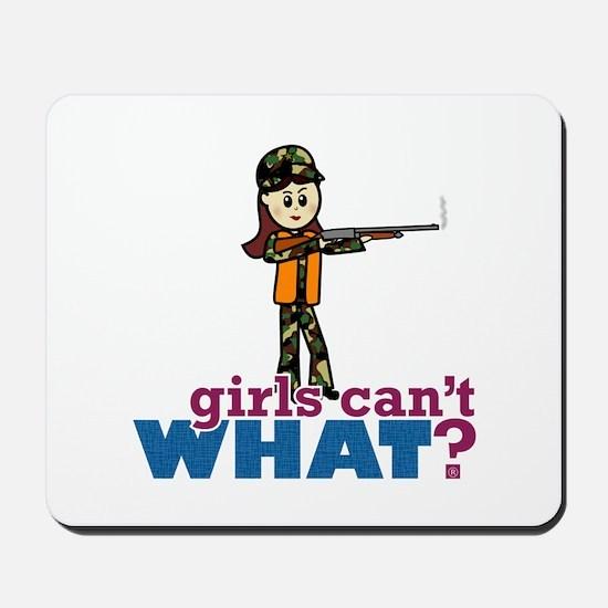 Girl Hunter Mousepad