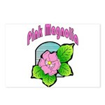 Pink Magnolia Postcards (Package of 8)