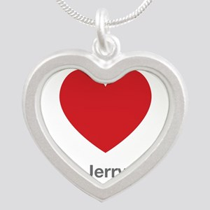 Jerry Big Heart Silver Heart Necklace