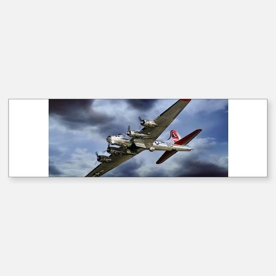 B-17 fortress Bumper Bumper Bumper Sticker