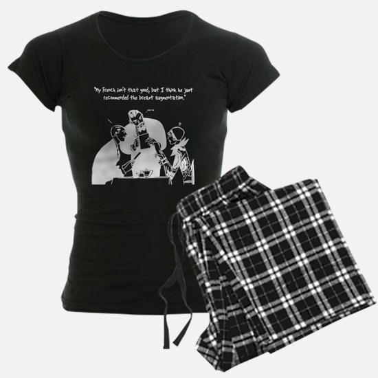 """Shallow"" line-art breast augmentation Pajamas____"