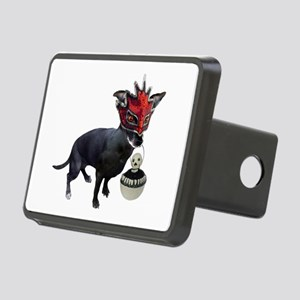 Dog in Mask Hitch Cover