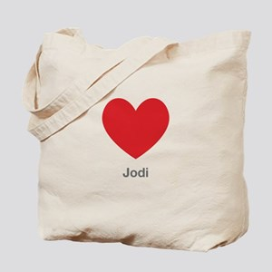 Jodi Big Heart Tote Bag