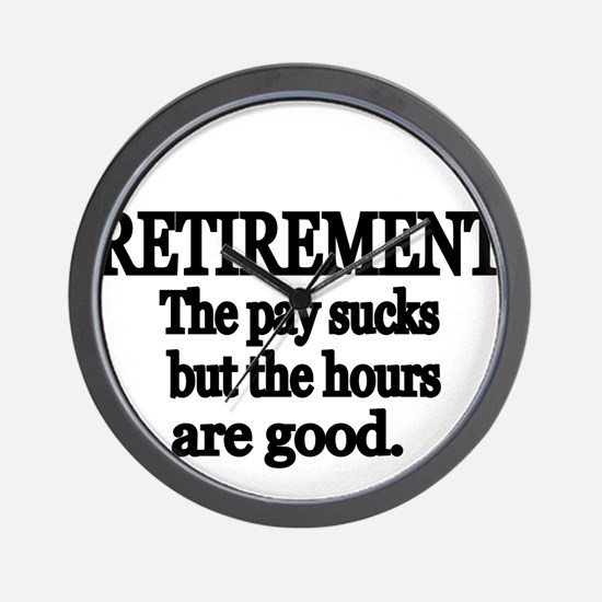Retirement. The pay sucks but the hours are good.