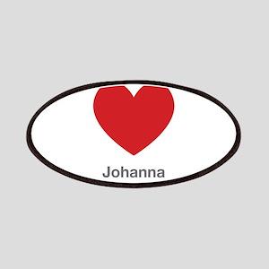 Johanna Big Heart Patches