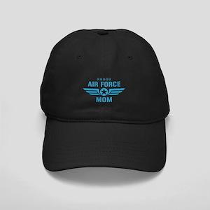 Proud Air Force Mom W Black Cap