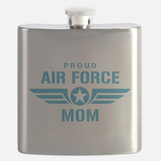 Proud Air Force Mom W Flask