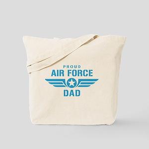 Proud Air Force Dad W Tote Bag