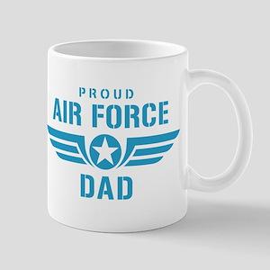 Proud Air Force Dad W Mug