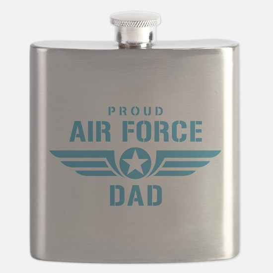 Proud Air Force Dad W Flask