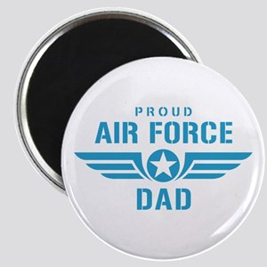 Proud Air Force Dad W Magnet