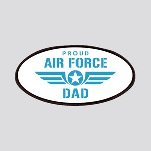 Proud Air Force Dad W Patches