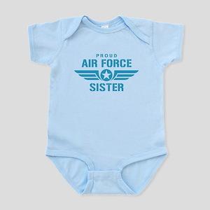 Proud Air Force Sister W Infant Bodysuit