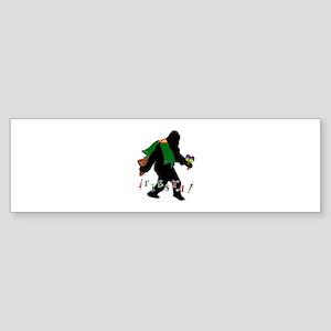 Squatcho De Mayo Bumper Sticker