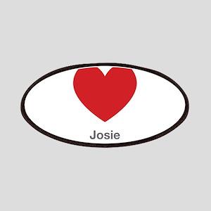 Josie Big Heart Patches