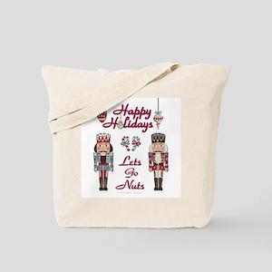 Happy Holidays Nutcracker Tote Bag