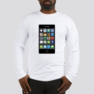 Phone Long Sleeve T-Shirt
